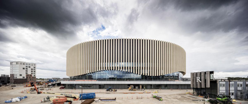 3XN Architects & HKS, Inc., Royal Arena, Copenhagen, Denmark