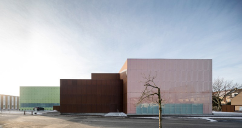 Schmidt Hammer Lassen Architects, Vendsyssel Theatre, Hjørring, Denmark