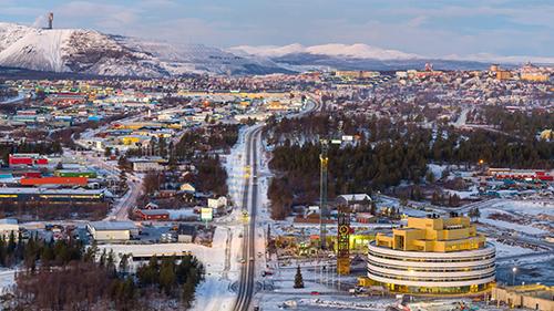 Kiruna town hall Henning Larsen1